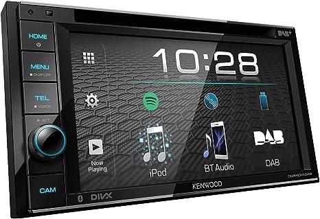 Kenwood DDX-4019DAB DAB + Autoradio multimediale con touchscreen