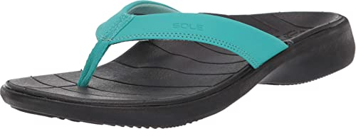 Mens Sole Catalina Sport Orthotic Arch Support Flip Flops Sandals
