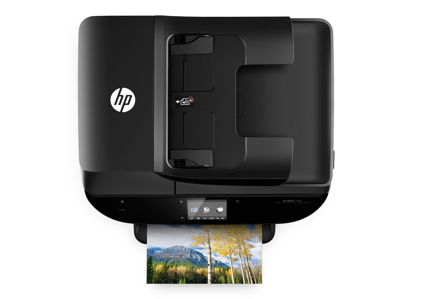 HP ENVY 7644 e-All-in-One Photo Quality Inkjet Printer, wireless printing, mobile phone compatible, in black (Renewed) by HP (Image #6)