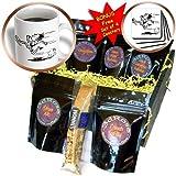3dRose TNMGraphics Sports, Runner, Coffee Gift Baskets