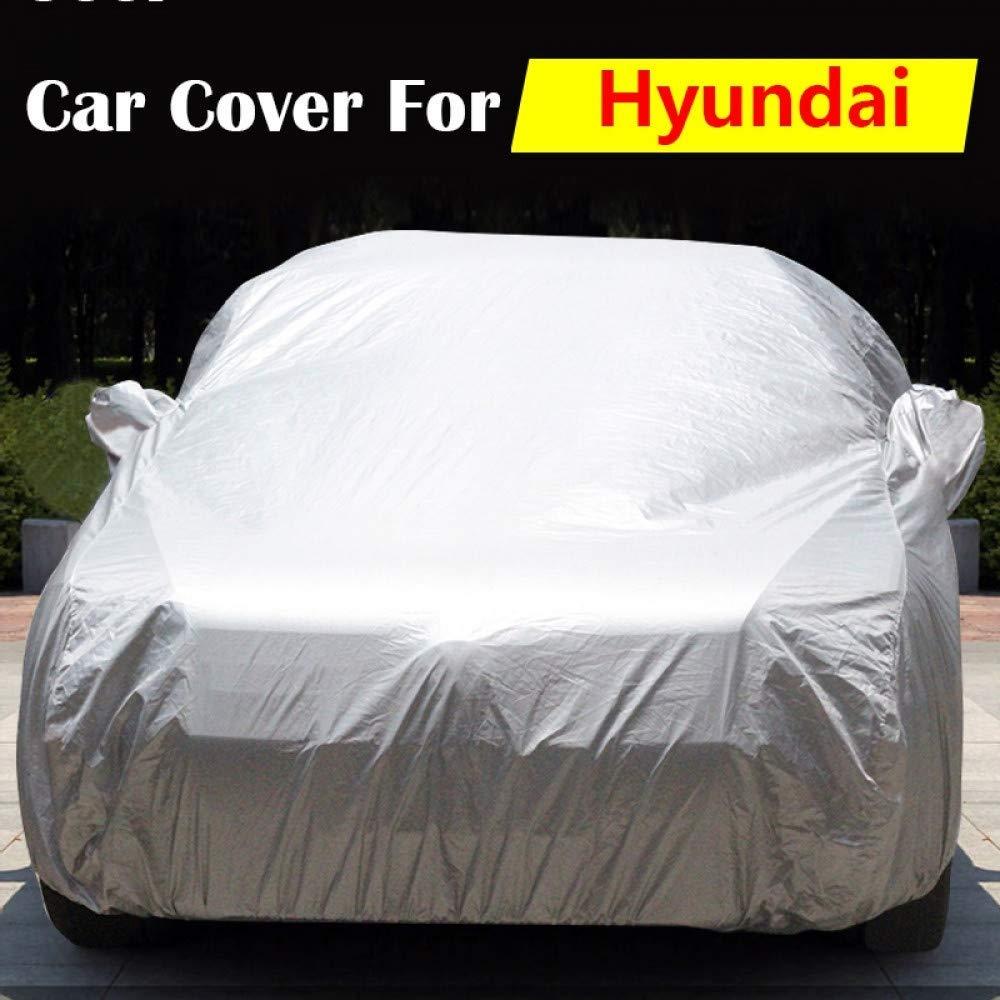 車のカバー防水車のカバー自動太陽抗紫外線雨雪傷保護カバー用ヒュンダイ衛星H-1 I10 Elantra Azeraアクセント (Color : For Hyundai)  For Hyundai B07T9SQ4X9