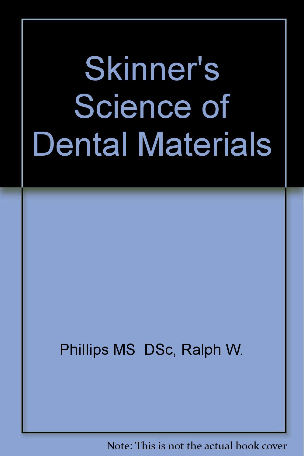Phillips Science Of Dental Materials Pdf