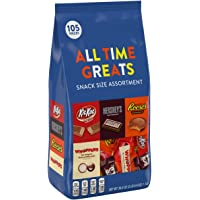 Hershey's Chocolate Variety Assortment (Reese's, Kit Kat, Hershey's &Whoppers) 2 Pound Bag, 105 Count