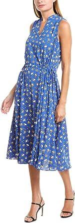 ANNE KLEIN Women's Drawstring MIDI Dress