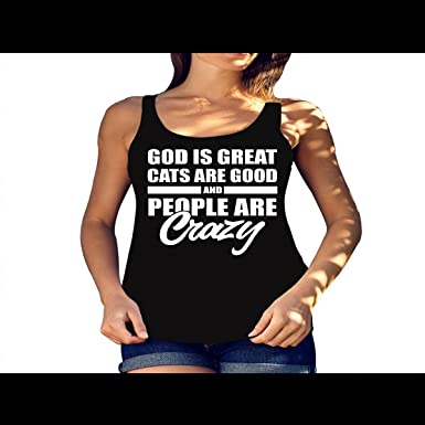 Amazon.com  Funnyquotestee Women s God is Great Unicorn   People Are ... 15f702928a