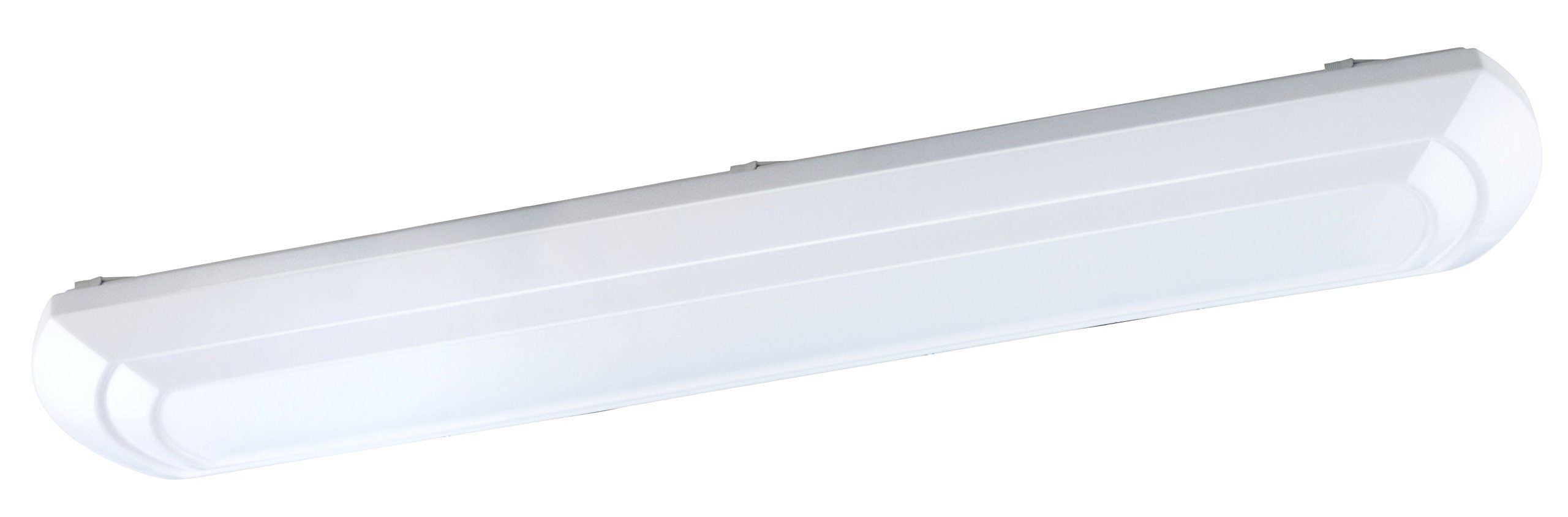 Good Earth Lighting Arched Door 48-Inch LED Linear Decorative Light - White