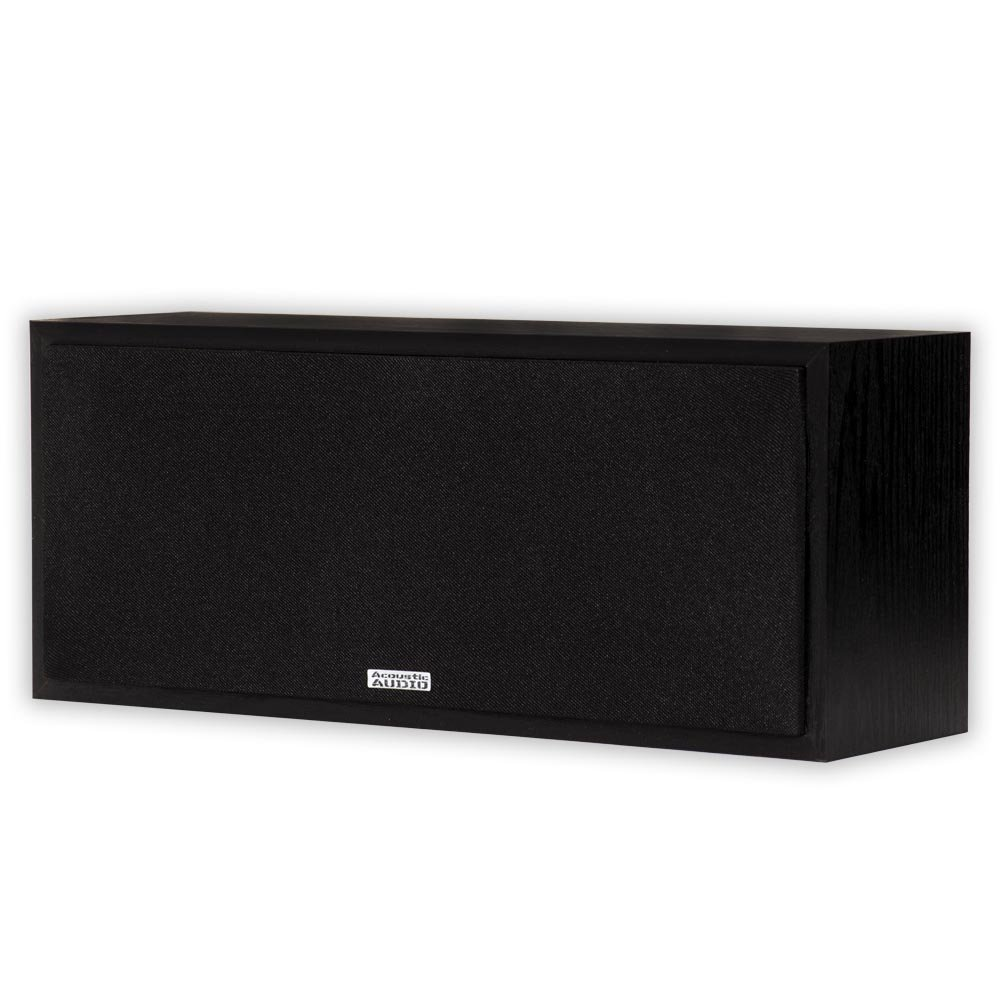 Acoustic Audio PSC-43 Center Channel Speaker 150 Watt 3-Way Home Theater Audio by Acoustic Audio by Goldwood