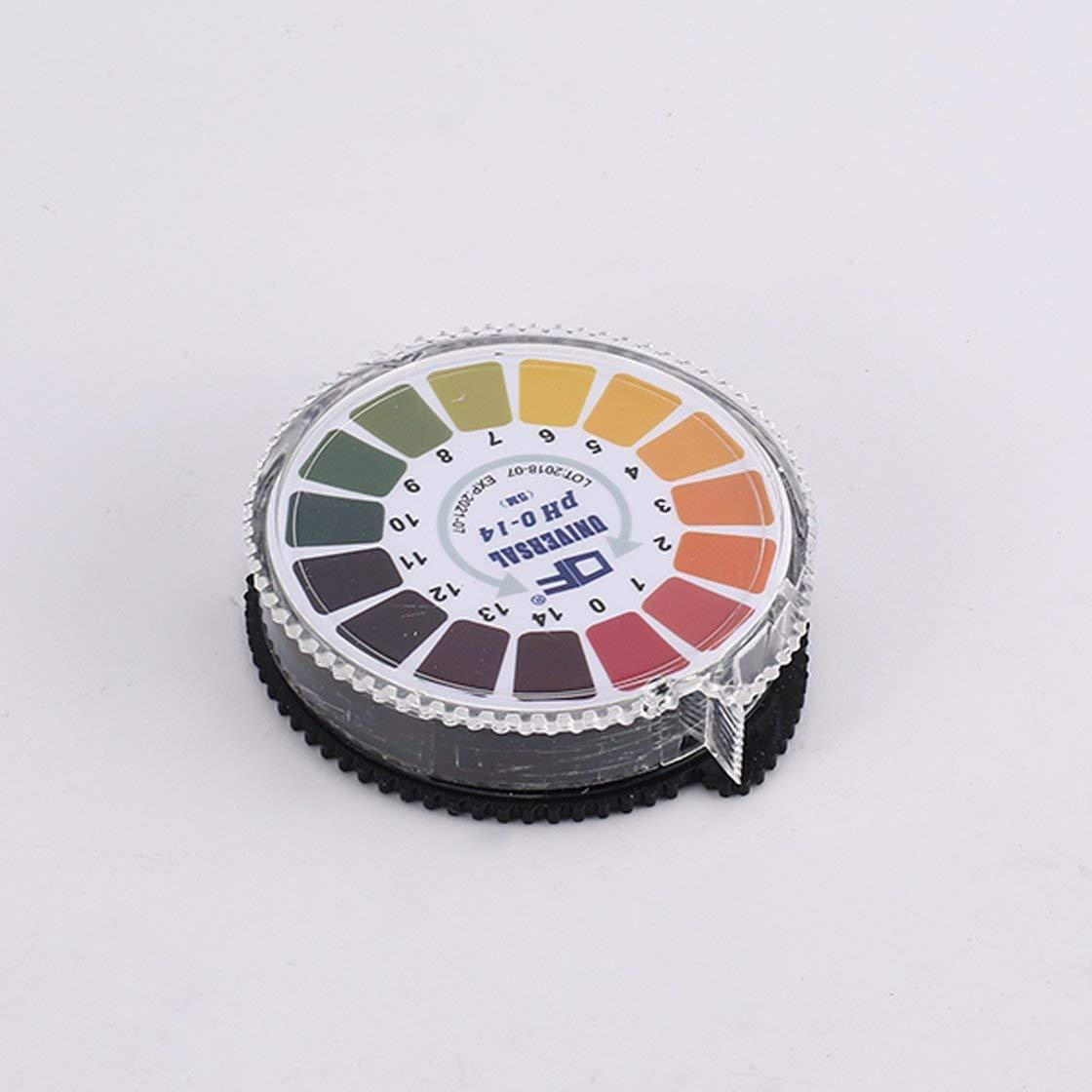 5m 0-14 pH Test Paper Alkaline Indicator Meter Roll per acqua salina di urina Salina Terreno tornasole accurato test di misurazione piscina BlackPJenny