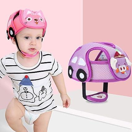 Gorro protector de seguridad para bebé, anticorrosión ajustable, casco de seguridad, reducen lesiones