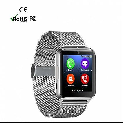 Pulsera Fitness Reloj, Activity Tracker Fitness y gimnasio sano podómetro monitor sueño Anuncios Capacitivos Reloj