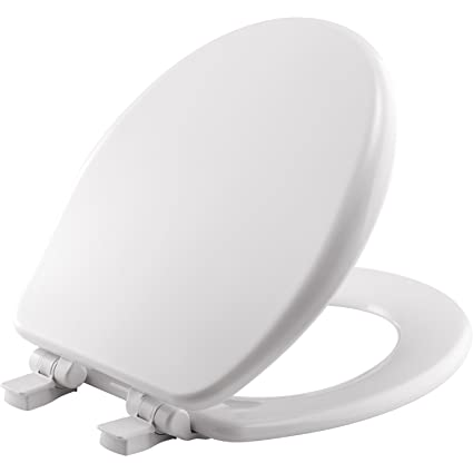 Peachy Mayfair Toilet Seat Will Slow Close Never Loosen And Provide The Perfect Fit Round Highly Stylized Durable Enameled Wood White 64Slow Caraccident5 Cool Chair Designs And Ideas Caraccident5Info