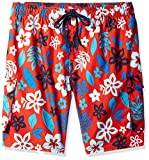Kanu Surf Men's Miles Swim Trunks (Regular & Extended Sizes), Revival Red, 2X