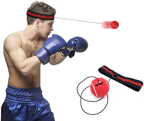 1PC Fighting Boxing Reflex Ball For Reflex Speed Training Boxing Punch Ball  !