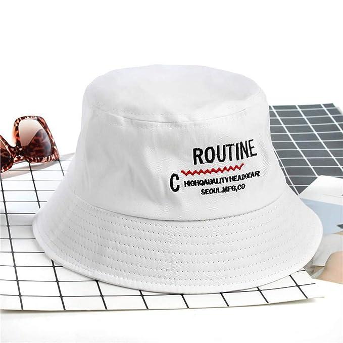 e59d262b77 2019 Cotton Letter Bucket Hat Fisherman Hat Outdoor Travel hat Foldable Sun  Cap Hats for Men