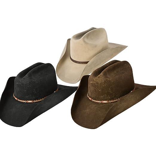 918a90e5d0d Amazon.com  Stetson SFBOTP-9990 Boss of The Plains Hat  Clothing