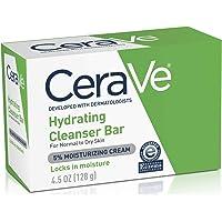 CeraVe Cerave barra limpiadora hidratante |128gr| jabon en barra para rostro y cuerpo | libre de fragancia, no irritante