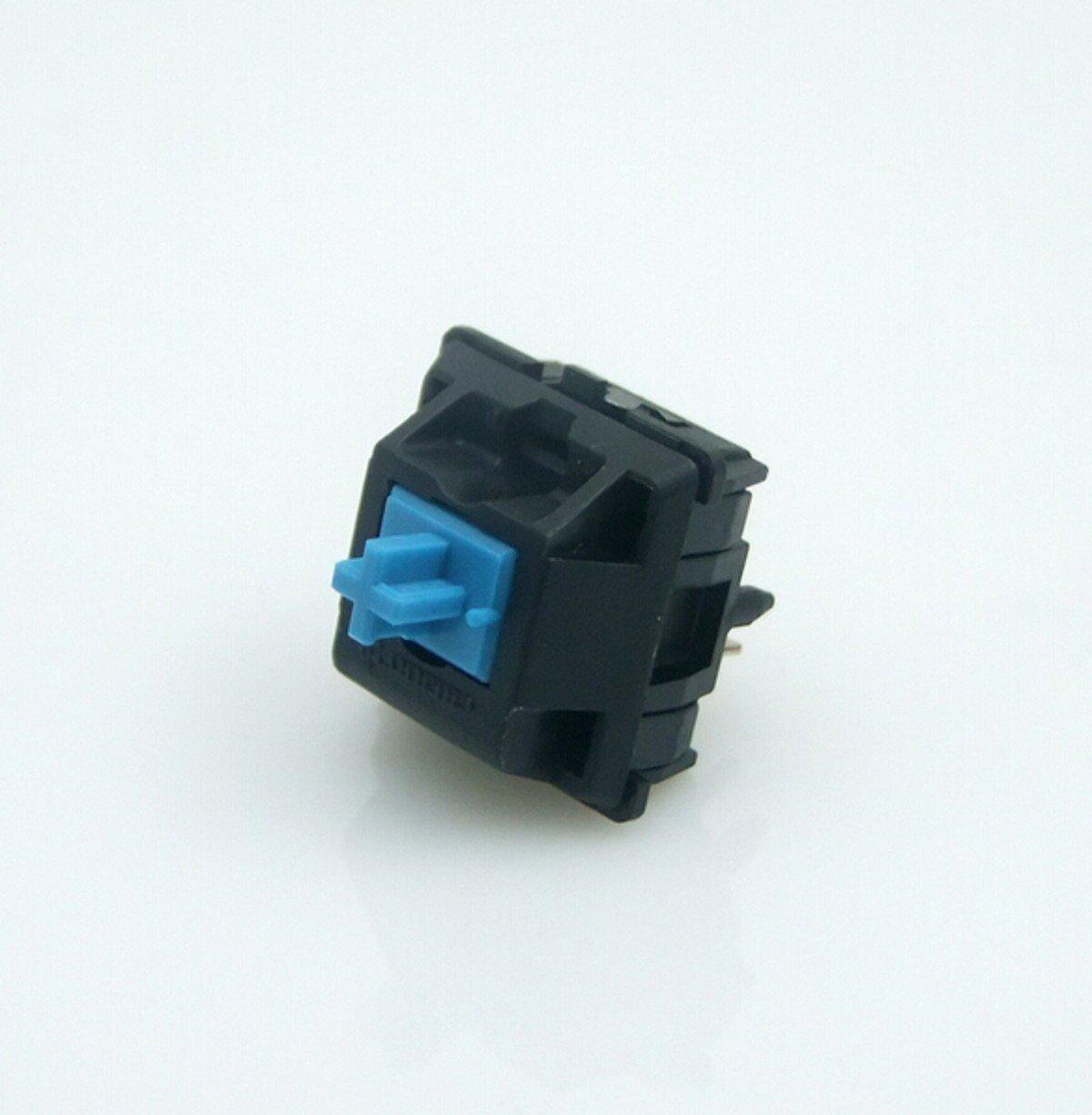 CHENGYIDA 10PCS CHERRY MX Series Keyswitches Blue(Cyan) - Keyboards Switches GENUINE Replacement-ORIGINAL KEYBOARD SWITCH Ltd