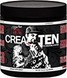 Rich Piana 5% Nutrition CreaTEN 10 Creatine System (Fruit Punch) 8.14oz (231 Grams) 30 Servings For Sale