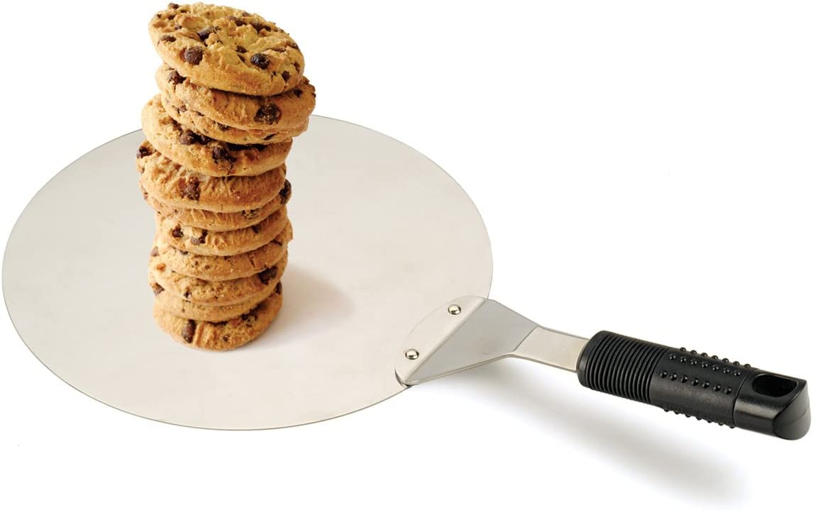10 RSVP International Endurance Cookies Pizzas /& More Stainless Steel Oven Spatula LIFT-10 Angled for Maximum Control Wide Spatula Lifts Cakes Dishwasher Safe /& Heat Resistant