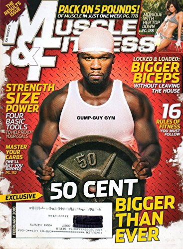 Muscle and Fitness, February 2010 (Vol. 71, No. 2) (Best Dumbbell Exercises For Muscle Mass)
