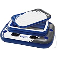 "Intex 58821NP Mega Chill II Pool Cooler, Blue black and white, 48"" x 38"" (122cm x 97cm)"
