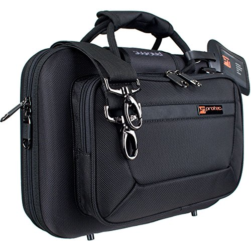 Protec Bb Clarinet Slimline PRO PAC Case, Black, Model PB307 by ProTec