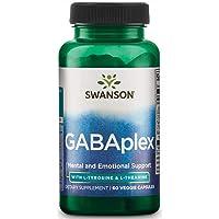 Swanson Amino Acid Gabaplex w/L-Tyrosine & L-Theanine 60 Veg Capsules