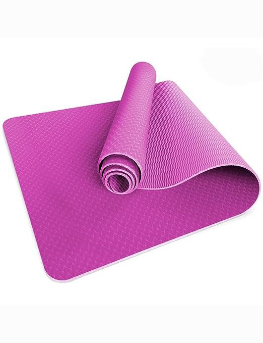 B-fengliu Colchoneta de yoga - Estera de yoga mejorada ...