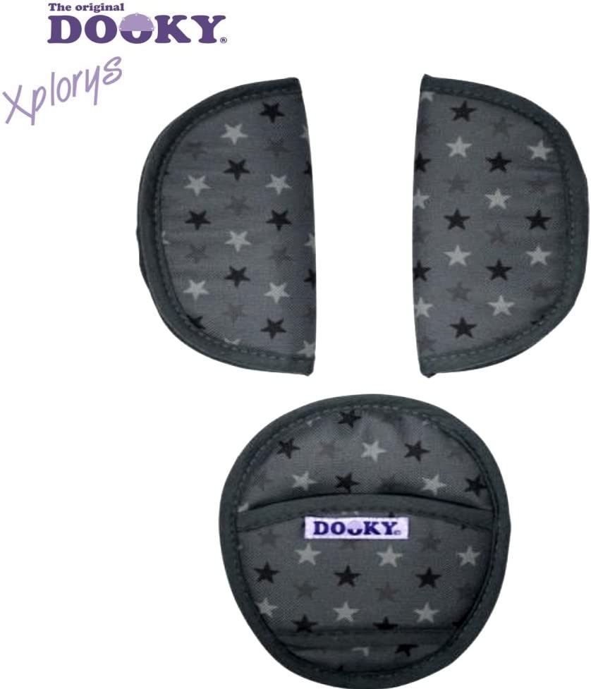 Original DOOKY PADS ** 3 x Almohadillas de cintur/ón de seguridad para Maxi-Cosi Cybex,