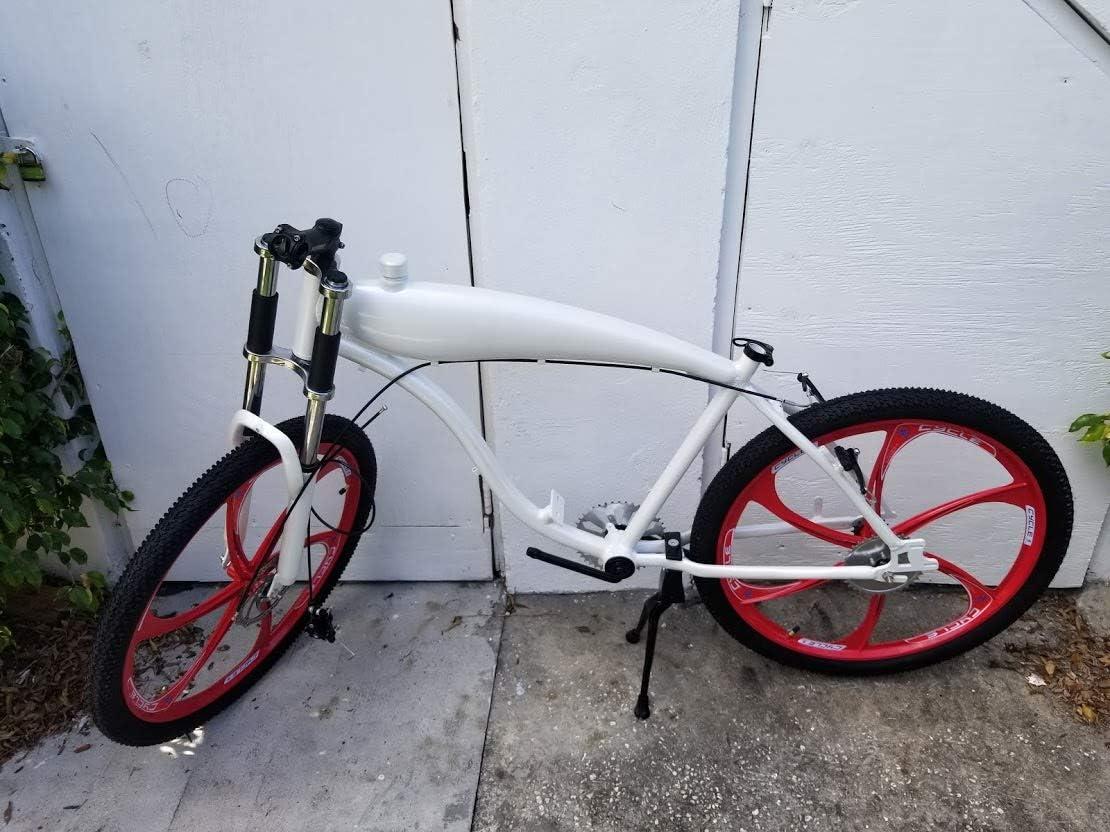 Reed Valve Window Piston Lot CNC Head PK80 80CC Motorized Bicycle Engine Kit