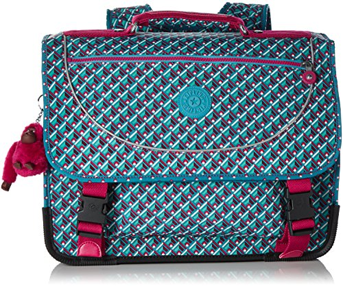 Kipling Preppy Medium School Bag Summer Pop Bl by Kipling