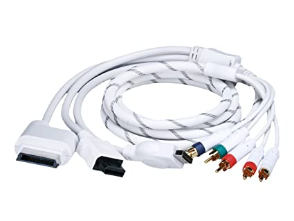 Monoprice 6FT 4 in 1 Component Cable for Xbox 360, Wii, PS3 and PS2