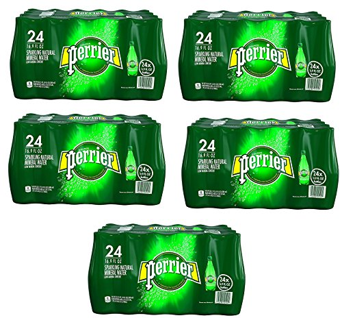 PERRIER Sparkling Mineral Water WxezTh, 16.9-Ounce Plastic Bottles (Pack of 120) by Perrier