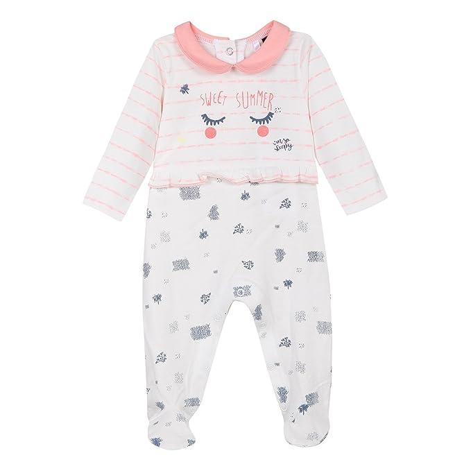 3 Pommes 3L54020, Chaqueta de Estar por casa para Bebés, Rosa (Tropical Pink 352) 0-3 Meses (Tallas De Fabricante: 1M/3M): Amazon.es: Ropa y accesorios