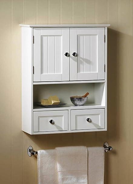 Perfect VERDUGO GIFT Nantucket Wall Cabinet