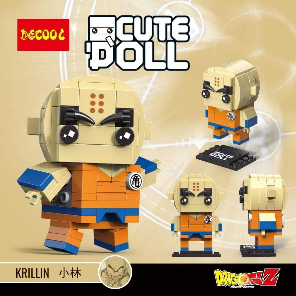 MSC Toy Figura de Krillin Krilin Dragonball Dragon Ball Puzzle ...