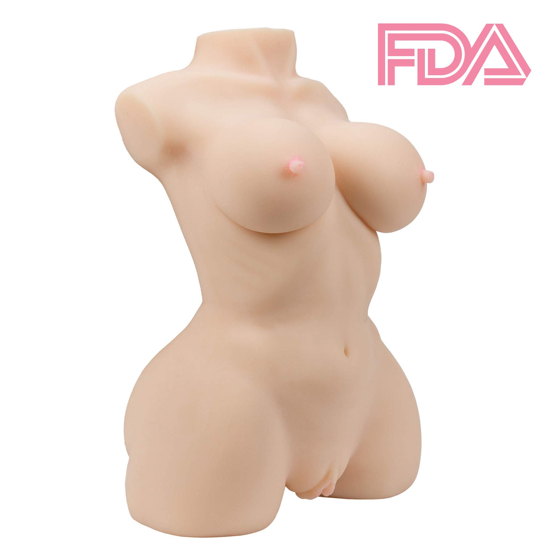 Y-NOT 3D Realistic Lifelike Sex Doll Male Masturbator Sex Toy with Heating Rod, for Realistic Anal, Breast, Vagina Sex, High Quality Silicone Flesh