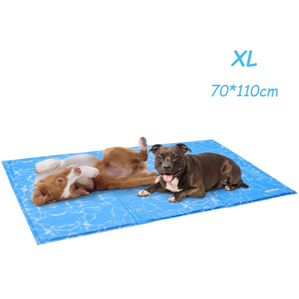70x110cm UNHO Alfombrilla de Refrigeraci/ón para Mascotas Manta Refrescante/para Perros y Gatos Alfombra de Enfriamiento para Verano