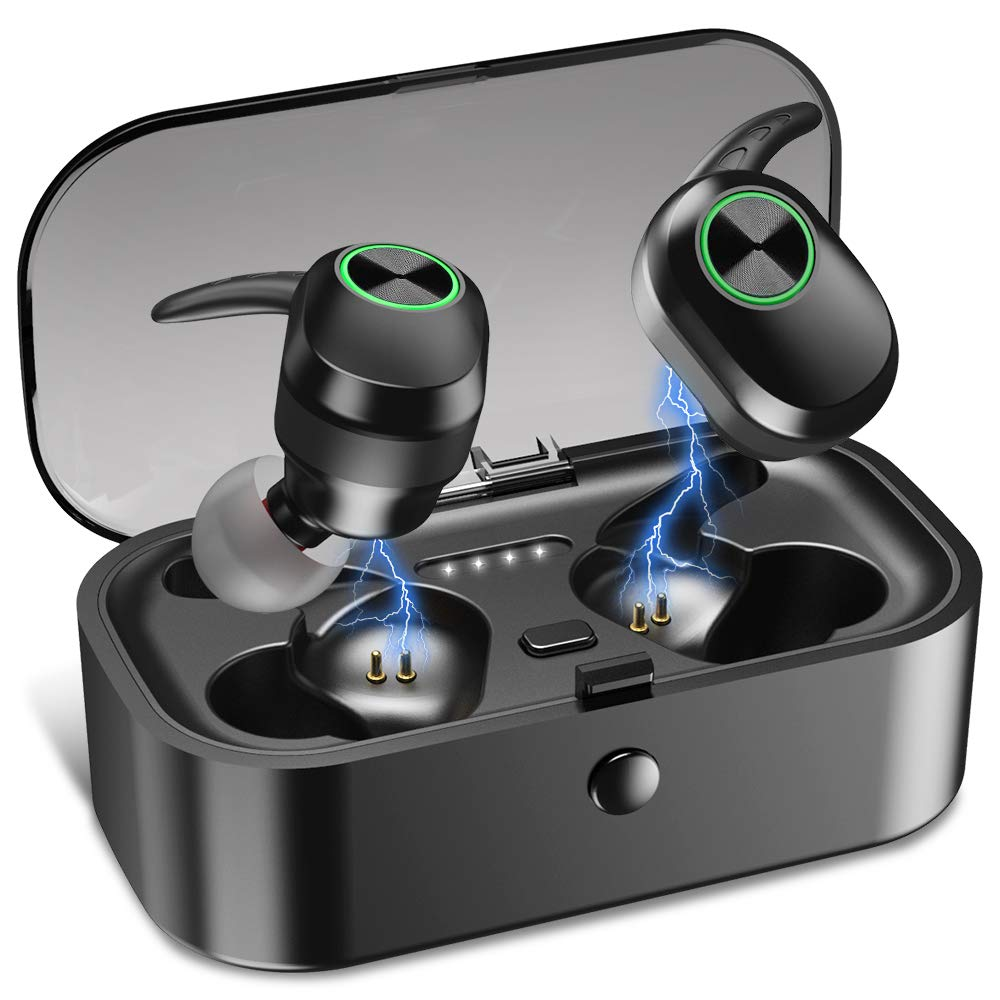 Auriculares Earbuds Inalambricos Junesh Waterproof IPX8 Wire