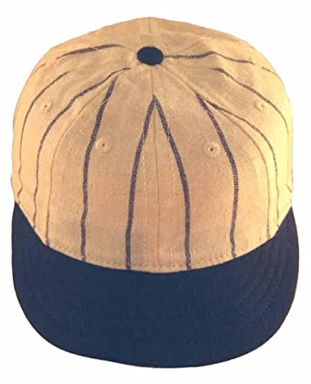 ideal cap co white with navy pinstripe style vintage baseball circa new caps different military