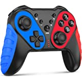 Wireless Controller for Switch/Lite, Upgraded for Nintendo Switch Controllers, w/ Turbo, Motion Control, Vibration for…