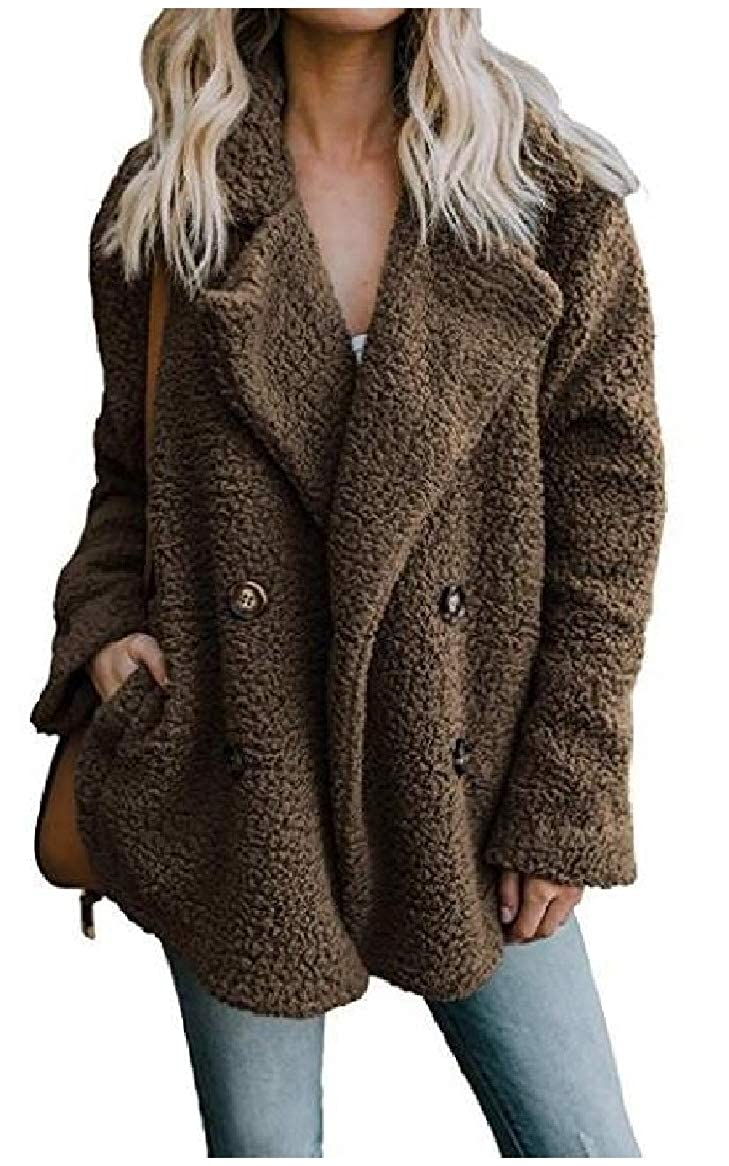Sankt Womens Fall Winter Cashmere Sweater Cardigan Buttons Polo Jackets Outwear