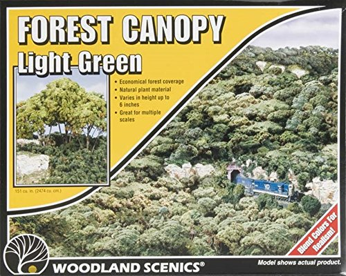 Woodland Scenics Light Green - 5