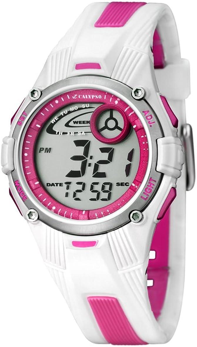 Calypso Reloj Cronógrafo para niña de Cuarzo con Correa en Caucho PC067592004