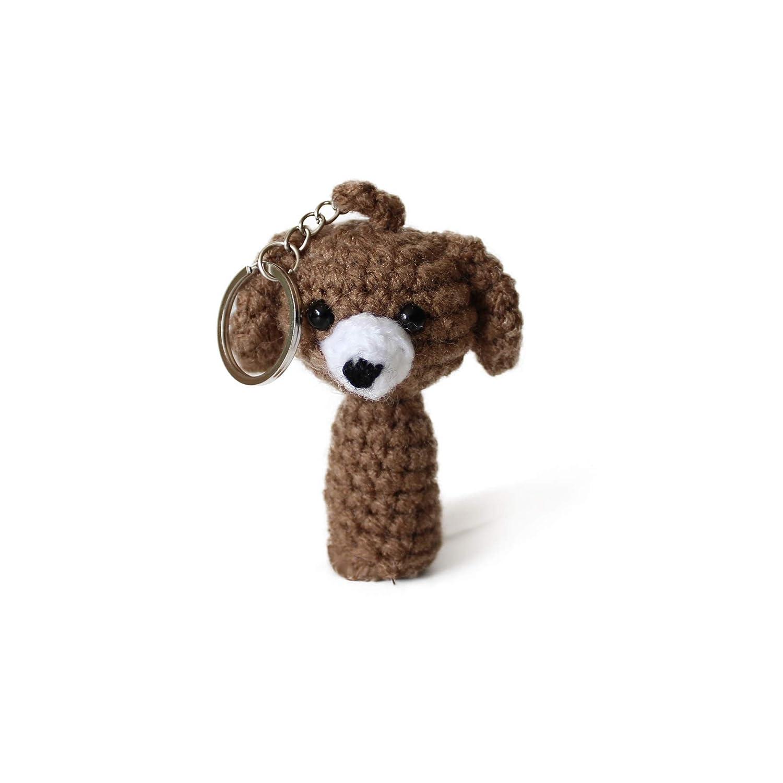 Hand knitted stuffed yellow pencil keychain Little crochet | Etsy | 1500x1500