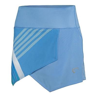 Athletic DNA Sports Apparel Hombre Stripe Origami Skort - Adult - Vista Blue