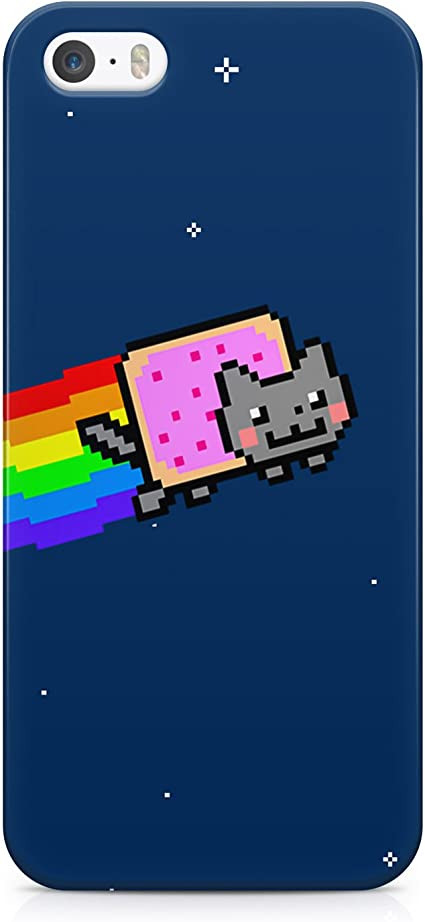 Nyan Cat Hard Plastic Snap Case Cover For iPhone 5 / iPhone 5s ...