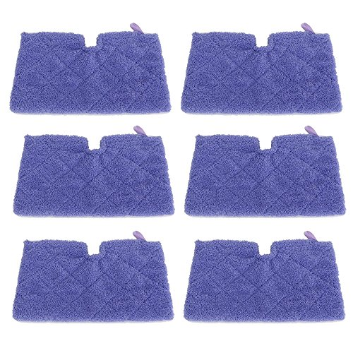 Find Discount ECOMAID 6pcs Steam Mop Pads for Shark Steam Pocket Mops S3500 series,S2901,S2902,S3455...