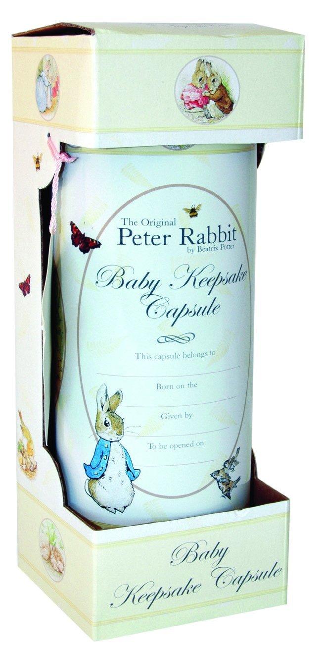 Assorted Robert Frederick Baby TIME Capsule-Beatrix Potter Cream 30 x 10 x 4 cm