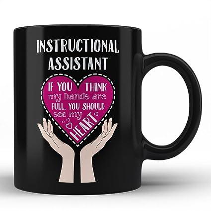 Amazon Best Teacher Instructional Assistant Mug Instructional